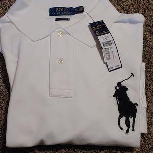 Polo Ralph Lauren Polo Mesh Polo Shirt Mens XL
